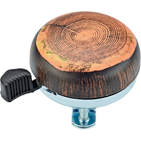 Electra Domed Ringer Campanello, wood